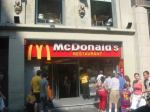 Mc Donald`s Barcelona - Sagrada Familia