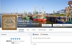 Hafen Pub Pellword - Facebook 200.000 likes geknackt