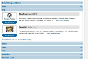 strato - wordpress installieren