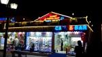 Alanya Urlaub Oktober Side Shopping by night