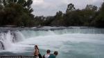 Alanya Urlaub Oktober - Manavgat Ausblick Wasserfall