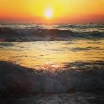 Alanya Urlaub Oktober Meer - Sonnenuntergang