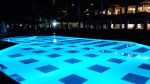 Urlaub Oktober Alanya Pool bei Nacht